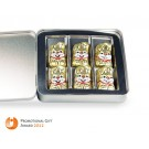 Premium-Box gefüllt mit Schoko-Osterhasen